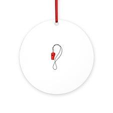 Whistle Ornament (Round)