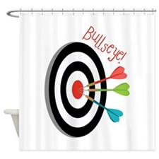 Bullseye Shower Curtain
