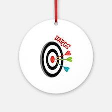 Darts Ornament (Round)