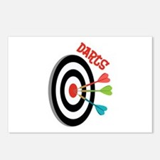 Darts Postcards (Package of 8)