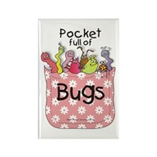 Pocket Full of Bugs! #4 Rectangle Magnet