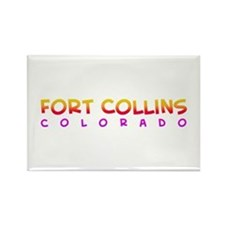 Ft. Collins, CO. Rectangle Magnet