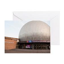 planetarium dome Greeting Card