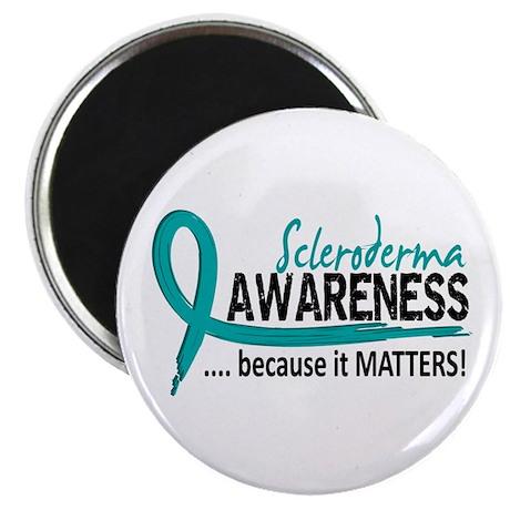 """Scleroderma Awareness 2 2.25"""" Magnet (100 pack)"""