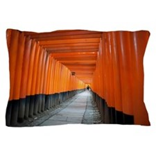 red torii gates Pillow Case