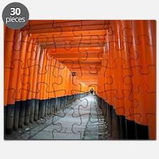 red torii gates Puzzle