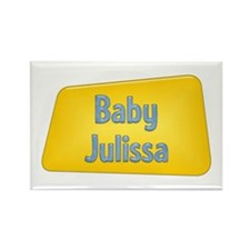 Baby Julissa Rectangle Magnet