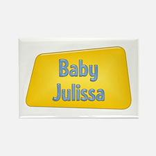 Baby Julissa Rectangle Magnet