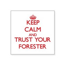 Keep Calm and trust your Forester Sticker