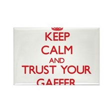 Keep Calm and trust your Gaffer Magnets
