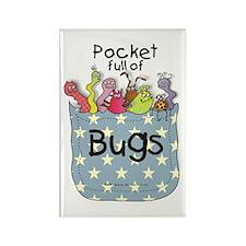 Pocket full of Bugs! #3 Rectangle Magnet