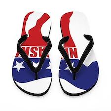 Nebraska Democrat Donkey Flip Flops