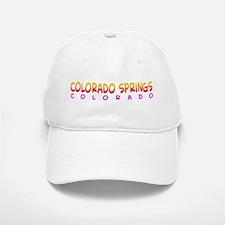 Colorado Springs, CO. Baseball Baseball Cap
