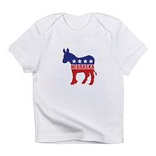 Nebraska Democrat Donkey Infant T-Shirt