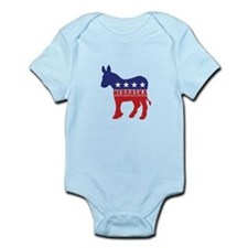 Nebraska Democrat Donkey Body Suit