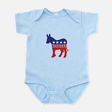 Nebraska Democrat Donkey Body Suit