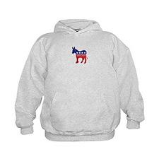 Nebraska Democrat Donkey Hoodie