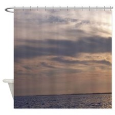Ocean Sky at Dusk Shower Curtain