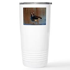 Canadian Goose Portrait Travel Mug
