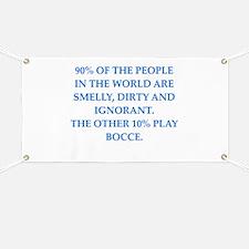 bocce Banner