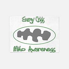 mito awareness energy crisis.png 5'x7'Area Rug