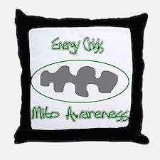 Mito Awareness Energy Crisis.png Throw Pillow