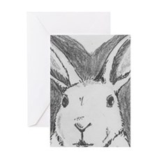Rabbit Rescue Adoption Greeting Cards