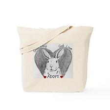 Rabbit Rescue Adoption Tote Bag