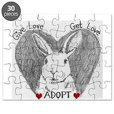 Rabbit Rescue Adoption Puzzle