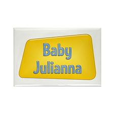Baby Julianna Rectangle Magnet