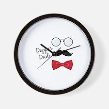 Dapper Dude Wall Clock
