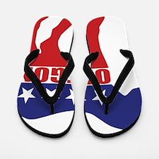 Oregon Democrat Donkey Flip Flops