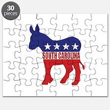 South Carolina Democrat Donkey Puzzle