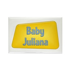 Baby Juliana Rectangle Magnet