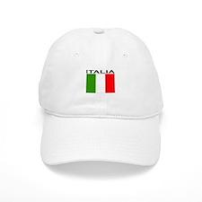 Italia Flag II Baseball Cap