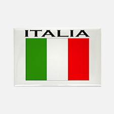 Italia Flag II Rectangle Magnet (10 pack)