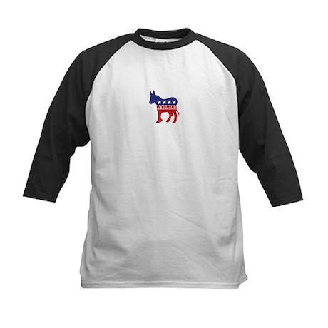 Wyoming Democrat Donkey Baseball Jersey