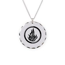 Dauntless symbol Necklace