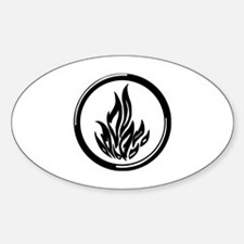 Dauntless symbol Sticker (Oval)