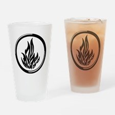 Dauntless symbol Drinking Glass