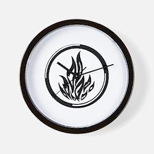 Dauntless symbol Wall Clock