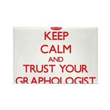 Keep Calm and trust your Graphologist Magnets