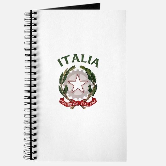 Italia Coat of Arms Journal