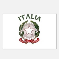 Italia Coat of Arms Postcards (Package of 8)