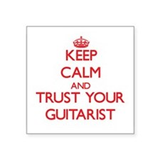 Keep Calm and trust your Guitarist Sticker