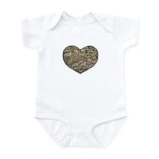 Soldier Heart Infant Body Suit