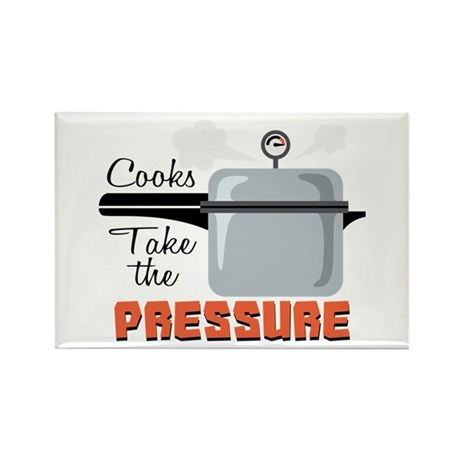 Cooks Take The Pressure Magnets