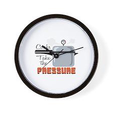 Cooks Take The Pressure Wall Clock