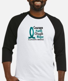 Scleroderma CourageFaith1 Baseball Jersey