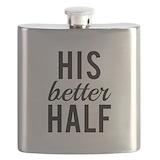 His better half Flask Bottles